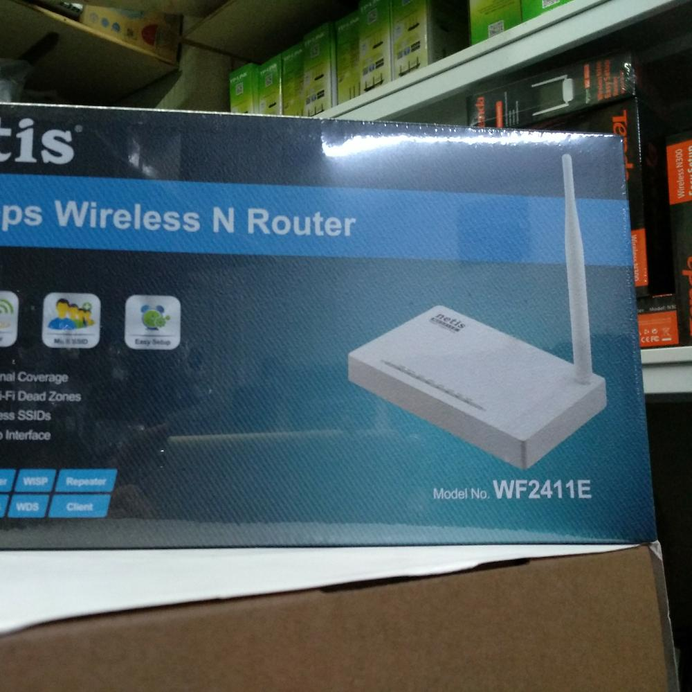 Router Murah Meriah Tapi Bukan Murahan Netis Wf2411e 150mbps Wireless Power Supply Dc 9v 500maoutput Isi Kemasan Paket