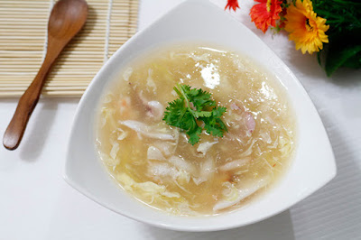 Soup hải sản thực đơn nhẹ gia đình