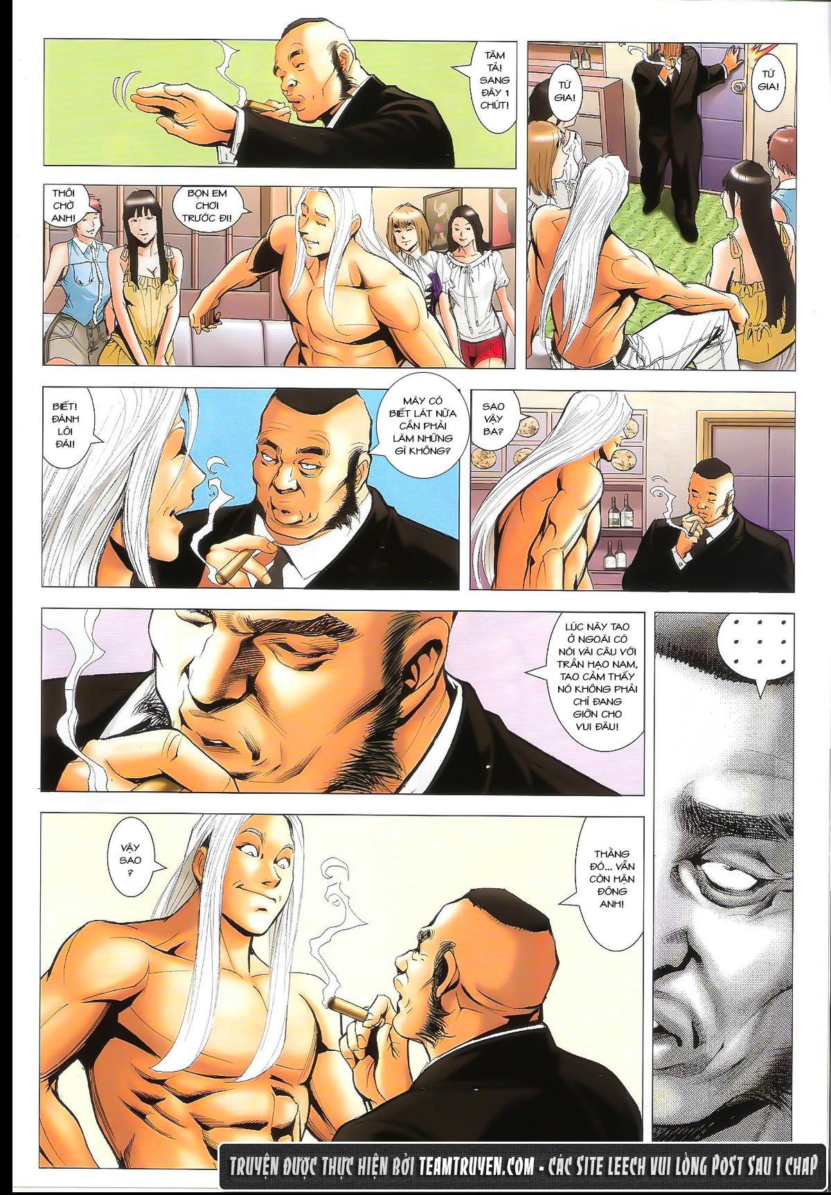 Người Trong Giang Hồ chapter 1632: ác chiến la tâm tả trang 15
