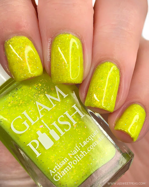 Glam Polish Sunshine In My Pocket 25 Sweetpeas
