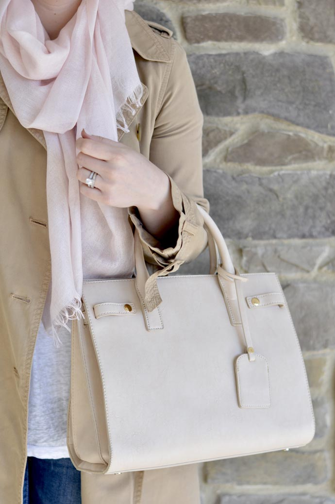 sole society beige satchel
