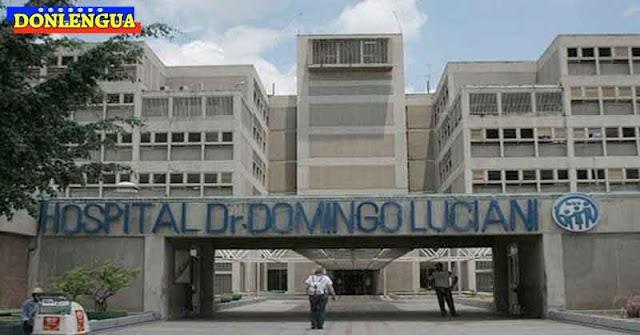 11 fallecidos en un solo día en el Domingo Luciani por falta de oxígeno