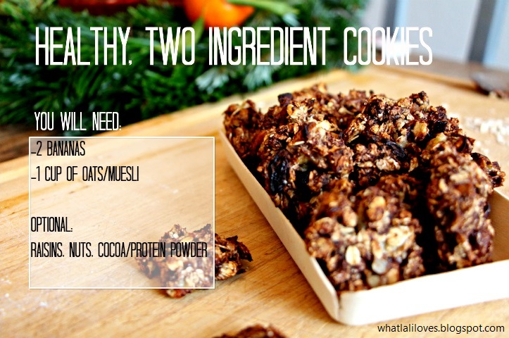 Healthy cookies / whatlaliloves.blogspot.com