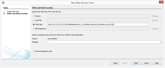 SOA and More: Generate a Java SOAP web service client using