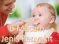 6 Macam Jenis Penyakit Pada Bayi Yang Harus Diwaspadai