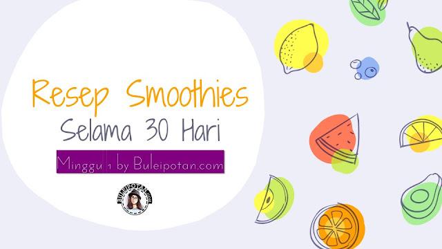 smoothies untuk kulit yang sehat