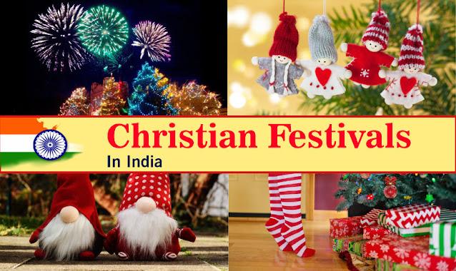 christian festivals in india
