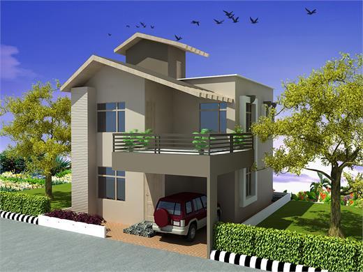 Bhukum Pune Duplex House Design