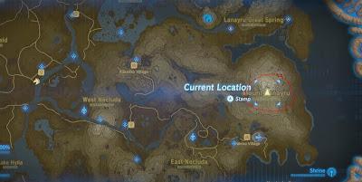 Naydra Dragon Location, Breath of the Wild