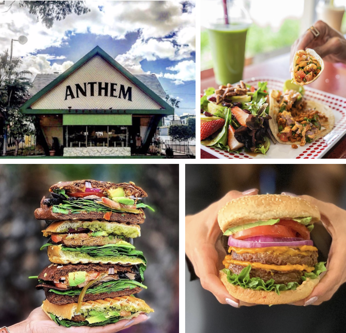 Anthem Kitchen And Bar: SanDiegoVille: Plant-Based The Village Mexican, Sushi