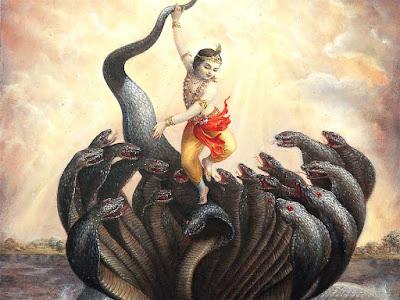Hindi story of Krishna - Kaliya Nag