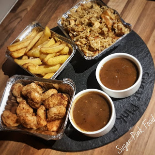 Chinese Fakeaway Recipe Chicken Balls, Egg Fried Rice & Curry Sauce
