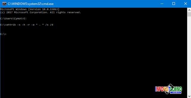 Cara Jitu mengatasi Virus Shortcut pada Flashdisk Terupdate