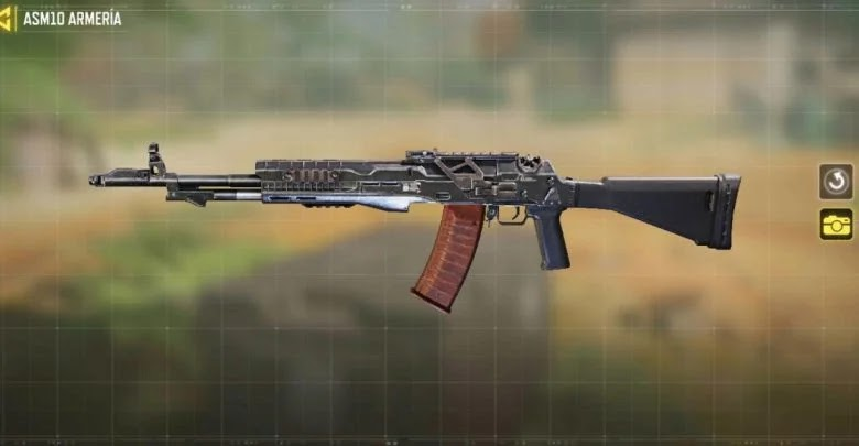 What are the assault rifles in Call of Duty: Mobile