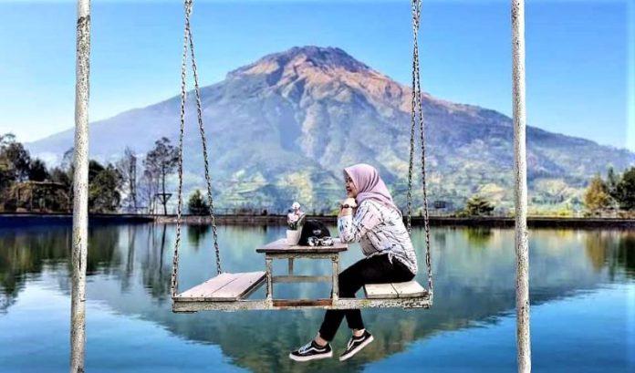 Embung Kledung, Serasa Melihat Bayangan Gunung Fuji di Danau Kawaguchi