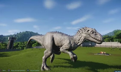 Create, Breed Indominus Rex, Jurassic World Evolution