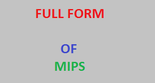 Full Form of MIPS