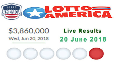 Lotto America Lottery Results 20 June 2018