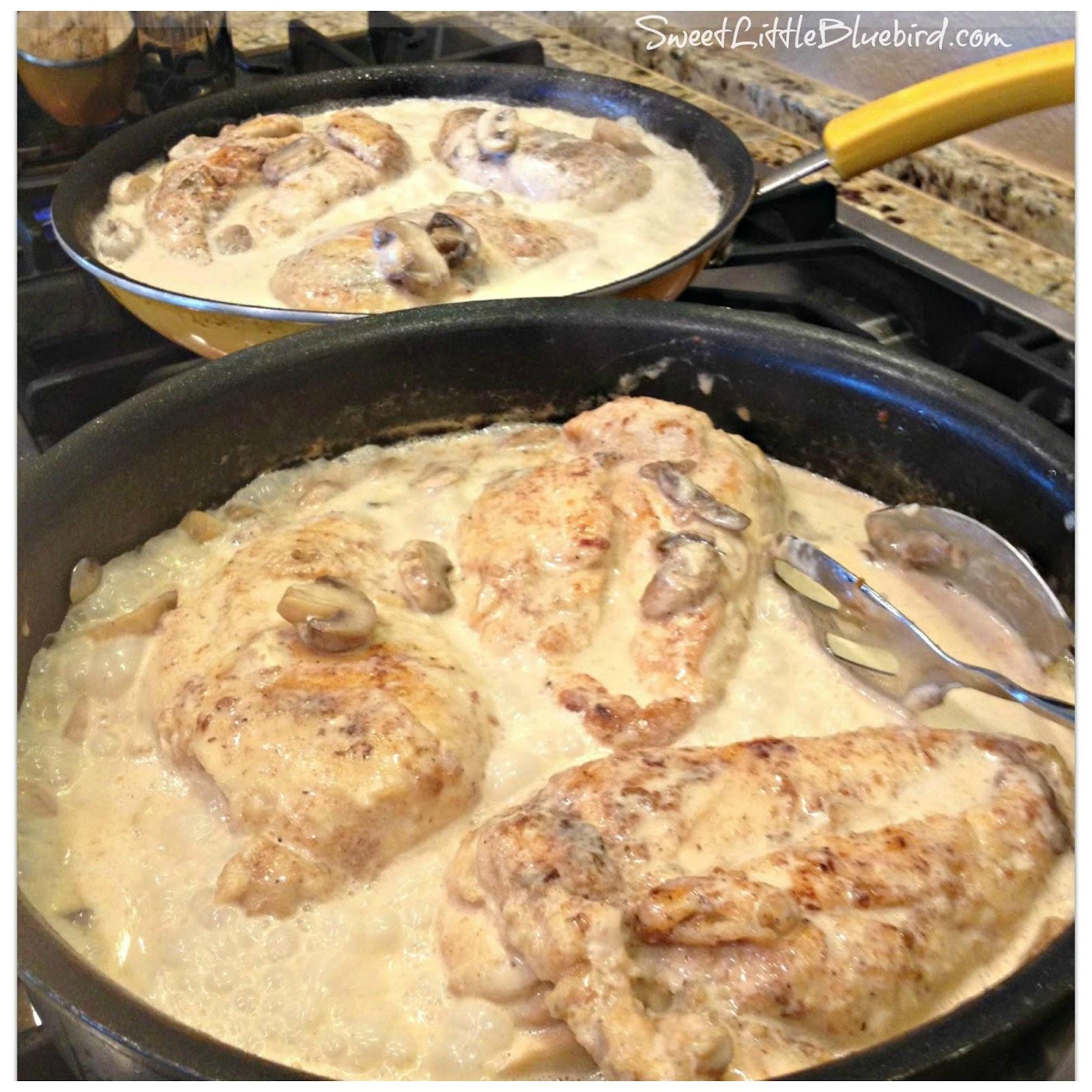 Chicken Breasts In Lemon Cream Sauce
