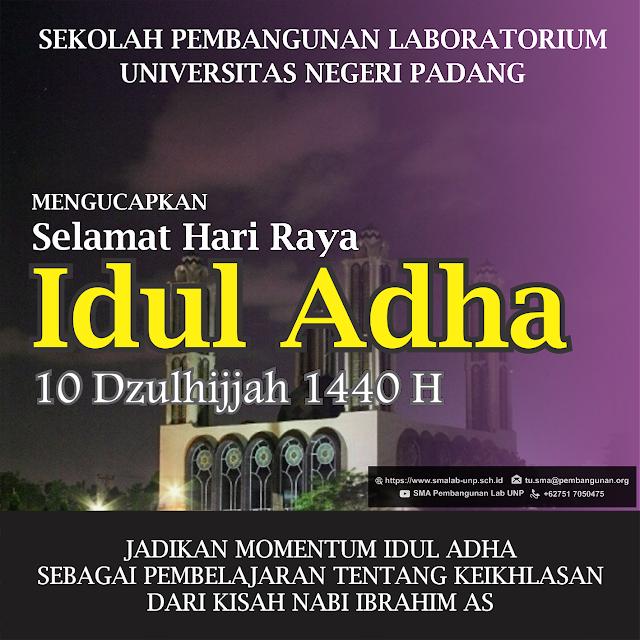 Selamat Hari Raya Idul Adha 10 Dzulhijjah 1440 H