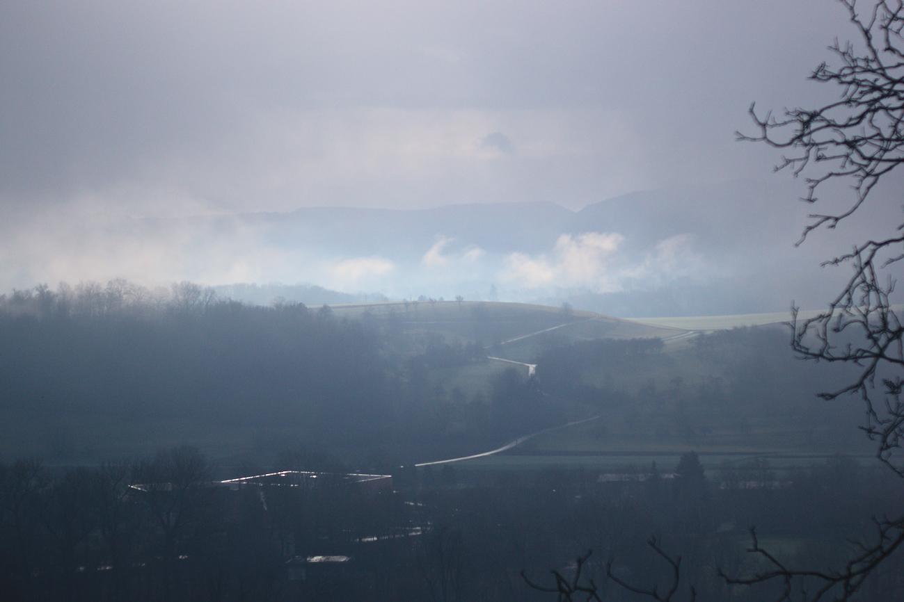 Bild der Woche #59 (KW06/2021) – Licht, Wolken und Nebel am Morgen