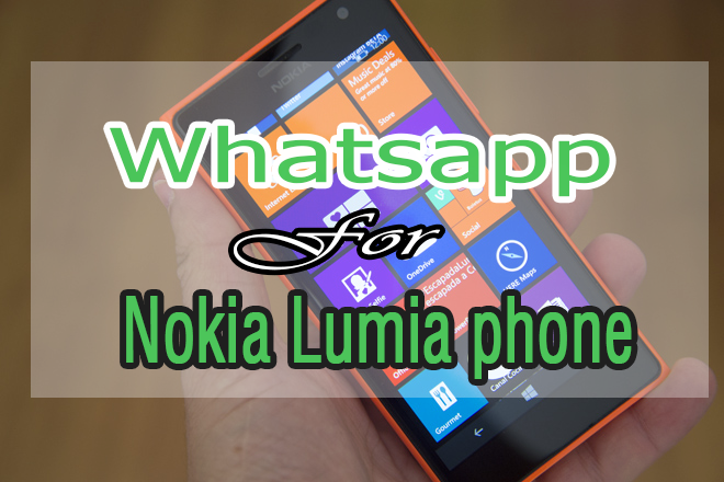 Nokia Lumia 820 whatsapp download
