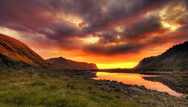 Virtual Sunset Iceland