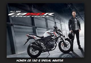 Harga dan Spesifikasi Honda CB150R Spesial Agustus 2017