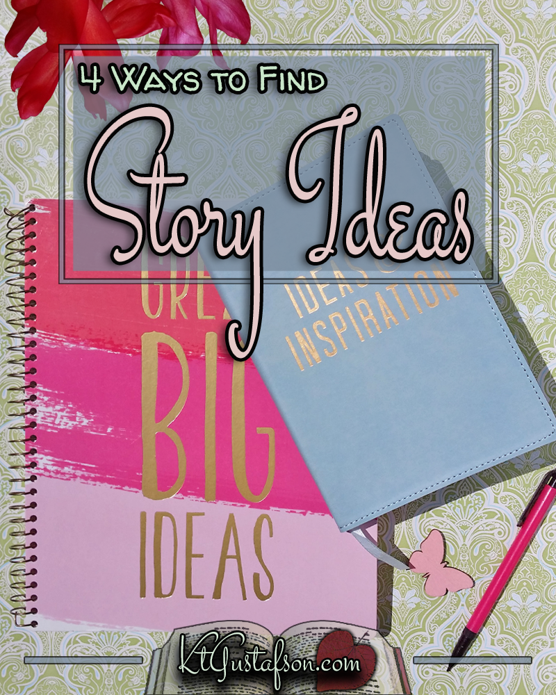 Ways to find story ideas