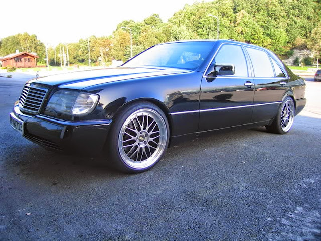 mercedes w140 bbs wheels