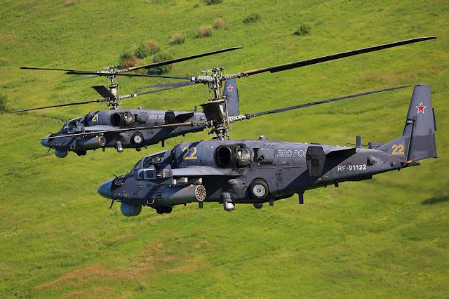Gambar 13. Foto Helikopter Tempur Kamov Ka-52 Alligator