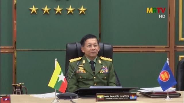 Otak Kudeta Myanmar, Jenderal Min Aung Hlaing, Datang ke Jakarta 24 April 2021