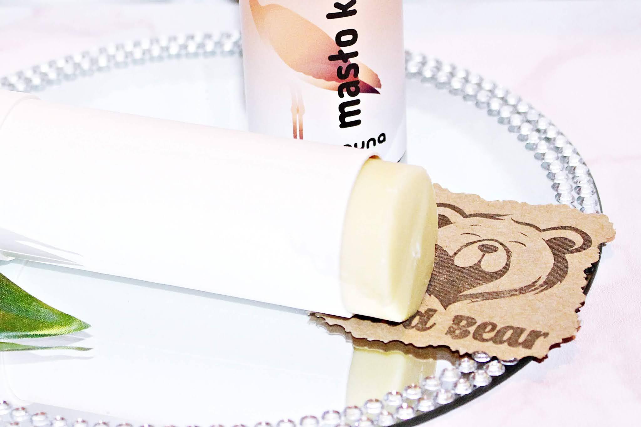 Masło kakaowe Auna w tubie, nierafinowane