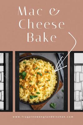 Classic Macaroni and Cheese Bake Casserole
