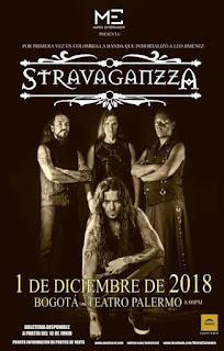 Concierto de STRAVAGANZZA en Bogotá