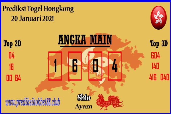Bocoran Hongkong 20 Januari 2021