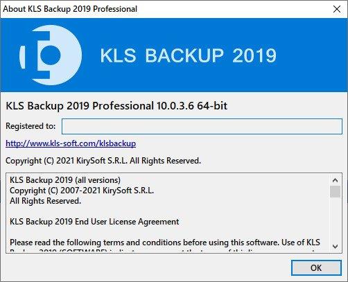 KLS Backup Professional
