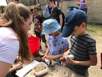 Planting seeds at Open Farm Sunday