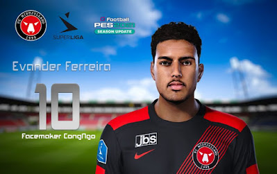 PES 2021 Faces Evander Ferreira by CongNgo