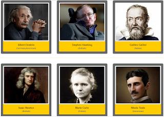 nama ilmuwan besar dan terkenal cabang ilmu fisika teoretis