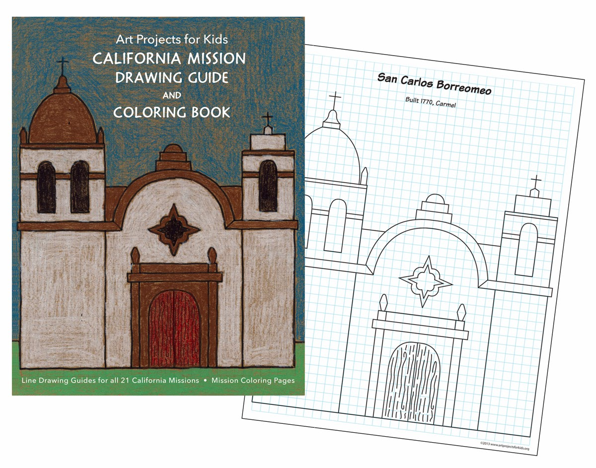 ca missions coloring pages - photo #41