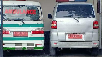 Mobil Ambulance Puskesmas Lepak Dilempar OTK, Polisi Selidiki Pelaku