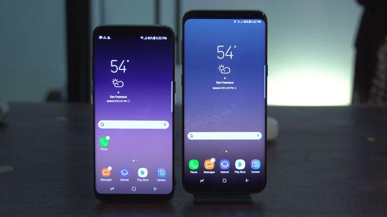 samsung galaxy s8+ spionage app