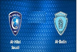 مشاهده مباراة الهلال والباطن Match-Al-Hilal-vs-Al-Batin-live بث مباشر 21-10-2017 الدوري السعودي