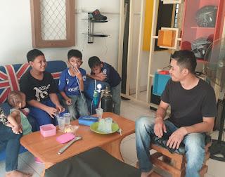 Udara di Inhil Tidak Sehat, Arip Budiman buka 'Rumah Oksigen'