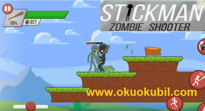 Stickman Zombie Shooter 1.4.7 Mod Yakın Dövüş Yükseltme Hileli Apk İndir Ocak 2020