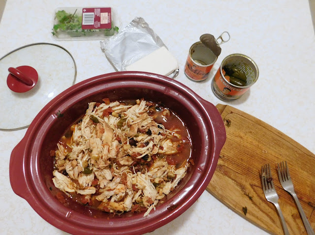 Easy, Creamy Jalapeno Slow Cooker Pulled Chicken