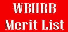 WBHRB Staff Nurse Merit List