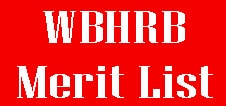 WBHRB Staff Nurse Merit List 2020 GNM Grade 2 Interview Result