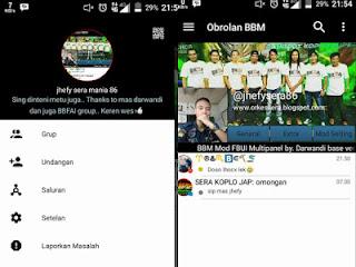 BBM Mod Black White Color V3.0.0.18 Terbaru